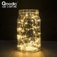 battery operated mini string lights - 2M M M M Battery Operated Led String Mini LED Copper Wire String Fairy Light Christmas Xmas Home Party Decoration Light Warm Pure White