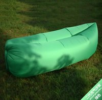 adult only camping - Fast Inflatable Lamzac Hangout Air Sleep Hiking Camping Bag Bags Bed KAISR Beach Sofa Lounge Only Ten Seconds Inflate With Pocket Colors