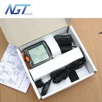 Wholesale Fashion New Design Water resistant Multifunction Wireless Bike Bicycle Computer LCD Backlight Backlit Cycling Speedometer Odometer Stopwatch