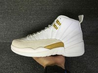 basketball jump ball - Mens OVO Retro XII Basketball Shoes For Men Athletic Trainer Sports Jump Man s Whtie Gold Retros Basket Ball Sneakers Running Shoes