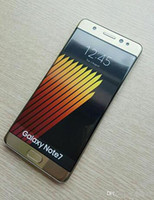 Wholesale Free DHL Note7 Edge inch cell phones MTK6782 Quad Core G GB G ram G rom show g lte