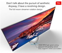 Wholesale TCL inch LCD TV UHD ultra clear K TV six core Android intelligent LED TV high color gamut rotary pedestal popular products