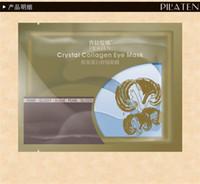 Wholesale 2016 Hot sale PILATEN Crystal Collagen Eye Mask Sticker anti aging anti puffiness dark circles moisturizing eye care bag pair bag