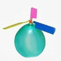 basketball party bags - Traditional Balloon Airplane Helicopter For Kids Child Party Bag Filler Flying Toy Gift outdoors random color