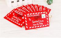 Wholesale 2016 Christmas tree pendant Non woven envelope Christmas cards Card bag Christmas items Christmas decorations Christmas envelope