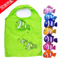alligator fishing - mic New Colors Tropical Fish Foldable Eco Reusable Shopping Bags cm x58cm Bags Luggages Accessories
