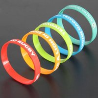 printed silicone bracelet - Personalized custom silicone bracelet silicone wrist strap made motion recognition lettering printing Euramerican wrist band silicon rubber