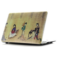 beauty briefcase - China FOUR Classical Beauty Printing Hard Matte Case for apple Macbook Air Pro Retina Shell Protective Cover