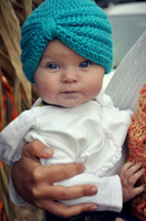 baby outdoor wear - crochet knitted Bohemia Baby hat kids warm cap solid color children beanies girls outdoor head wear accessories Newest