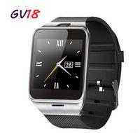 Wholesale 2016 Fashion Aplus Smart Watch GV18 Support Micro SIM Card NFC Communication Bluetooth Clock mAh Battery Long Duration