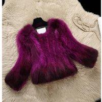 Wholesale 2016 new raccoon fur coat grass short paragraph Slim thin coat Ms Fashion high quality fur coat coat