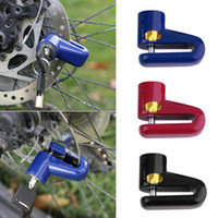 Wholesale Anti Theft Safety Security Motorcycle Bicycle Lock Steel Mountain Road MTB Bike Cycling Rotor Disc Brake Wheel Lock Y0028Bicycle Accessories