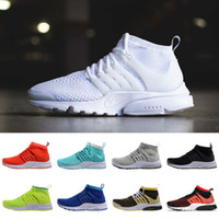 baseball athletic trainers - 2016 Air Presto Ultra Men and Women Running Shoes Athletic Casual Trainers Sports Shoes Cheap Ultra Boost Snakers High Quality US5