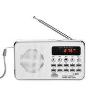 batteries portable media player - iMinker Mini Digital Portable FM Radio Media Speaker MP3 Music Player TF SD Card USB Disk Port For PC iPod Phone with LED Display
