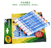 Wholesale Crayola Washable Window Markers Great For All Glass Surface coloring books for kids A12