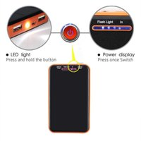 Wholesale 8000mah Waterproof solar charger Universal power bank dual usb externl battery