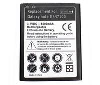 La nota 2 de la galaxia de la alta calidad amplió la batería del teléfono móvil con el caso de la contraportada para la batería AKKU ACCU 6500mAh de la nota 2 de la galaxia de Samsung libera la nave