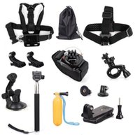 basic head - Camera Accessories Kit Basic in for Gopro hd sport acion camera Hero black silver