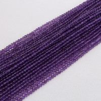 Wholesale 2016 Whosale mm mm Gemstone Round Amethyst Loose Beads per strand