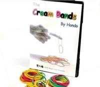 band gimmicks - The Cream Bands by Hondo Gimmick DVD stage magic props accessories card mental stage close up magic tricks