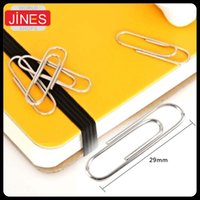 Wholesale set Thick plating surface Metal Paper Clips Office School Supplies stationery For Envelope Business card