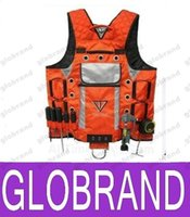 Wholesale 2016 NEW TOOLS VEST Electrician vest Craftsman tools vest Multifunctional toolkit safety clothing GLO741