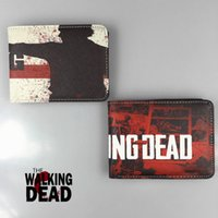 Wholesale The Walking dead line wallet fight the dead fear the living tide of boys and girls purse the student individuality wallet
