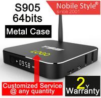 Wholesale 1pcs Custom Made T95 gb gb years warranty Google Android Smart IPTV TV boxes full Kodi Blackbox hd pack Amlogic S905 S905X bits WIFI