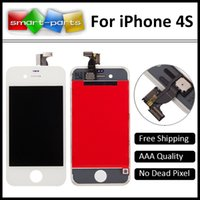 apple parts packages - Best Quality Great Packaging Top Quality White Black Replacement Parts For iPhone S LCD Screen Display Assembly Complete