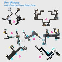 apple power button - For iPhone S C S Plus S SPlus High Quality Power Button And Volume Audio Control Sensor Flex Cable Replacement DHL Free
