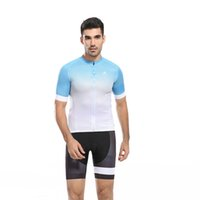 Wholesale Crew Neck Cycling Jersey Sets Polyester Zipper Fitness Breathable Compressed Summer Short Sleeve Bikes Clothes for Men