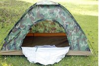 Wholesale 200 cm Outdoor Portable Single Layer carpas camping Tent Camouflage for Person Waterproof Beach barraca Tents