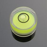 Wholesale HACCURY mm Circular bubble level Round level bubble Bullseye bubble level for Electronic scales Green Color