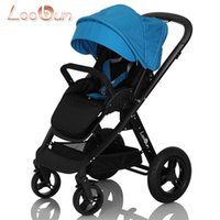 Wholesale Baby Carrier Loobun baby car baby stroller the runner two way shock absorption folding trolley baby pram