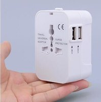 Wholesale Outlet Folding Converter Plug US EU UK plug universal adapter Charger V A Port travel usb charger