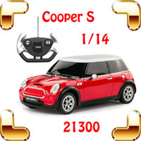 mini cooper rc car - New Year Gift Rastar Mini Cooper S RC Remote Control Toy Car Big Sedan Car Electric Drive Vehicle Cute Cool Present