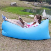 Wholesale HOT SELLING Fast inflatable bouncers sleep sofa beach PVC sleeping bag hangout camping sofa lazy chair outdoor high quality