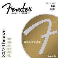 acoustic electric fender - Fender L Bronze Acoustic Guitar Strings Light