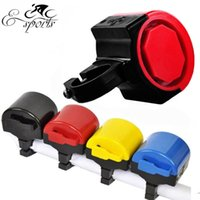 bicycle electricity - New Bike Accessories Electric Horn Colorful Outdoor Cycling Ring Bicycle Electricity Loudly Alarm Bell B050