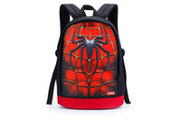 batman luggage - Fashion Marvel Backpacks D Print Travel Cycling Luggage Personality Kids School Bags Hot Sale Hulk Superman Batman Spiderman Backpack