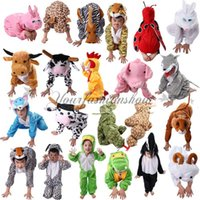 animal costumes for boys - Free Fedex Animal Disfraces Cosplay Halloween Costumes For Kids Children s Christmas Clothing Boys Girls Cosplay Costume T Y