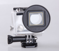 camera filter lens adapter - For Gopro Hero Hero Mini Camcorder Camera Lens Filter Adapter to mm Filter Polarized Mount Underwater GoPro Accessories