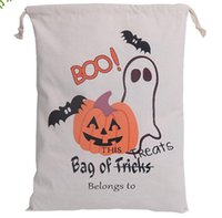 Wholesale Cotton Storage Bags Buggy Bag Drawstring Bags Hallowmas Gifts Sack Bags new Style Best Selling