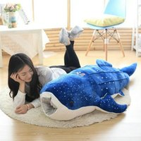 plush sea animals - Creativity Big Size Plush Toys cm Plush Shark cloth Doll blue whale Doll kids toys Sea Fish baby doll birthday gift