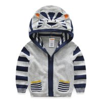 Wholesale Gymboree children wear the spring and autumn period and the new baby cartoon knitted cardigan jacket unlined upper garment of children
