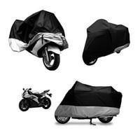 Wholesale Hot Sale XL Motorcycle Cover Waterproof Outdoor UV Dust Protector Bike Rain Dustproof Cover for Motorcycle Scooter Motocross Bike Cover