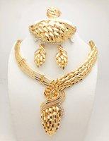 african american news - NEWS Saudi K Gold Plated Nigerian Wedding JewelryWholesale Handmade Nigerian Wedding African Beads Jewelry Set Gold Plated Crystal B