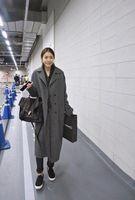 autumn flowers uk - casaco feminino UK Women Plus size Autumn Winter Cassic Simple Woolen Maxi Long Coat Female Robe Outerwear manteau femme za