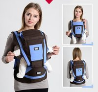 Wholesale baby carrier sling babies carrier backpack waist holding infant stool child breathable belt holding baby carrier sling colors