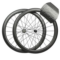 Wholesale hot sale c dimple surface carbon wheelset light weight dimple carbon wheels mm carbon clincher road bike wheels